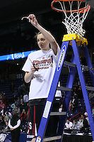 31 March 2008: Ashley Cimino during Stanford's 98-87 win over the University of Maryland in the elite eight game of the NCAA Division 1 Women's Basketball Championship in Spokane, WA.