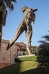 Minotaur sculpture, by sculptor Victor Ochoa, Jerez de la Frontera, Spain