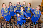 Dancers  representing Kerry in the Irish dancing competition   Ceoil An Gheimridh in the U17's category in January 2016, front l-r  Ella Scanlon and Cait Rice. Back l-r  Mary Healy, Clare Kenny, Aine Rice, Abbie Blannerhassett, Laura Daly and Rachel O'Connor.