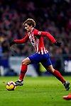 Antoine Griezmann of Atletico de Madrid runs with the ball during the La Liga 2018-19 match between Atletico de Madrid and RCD Espanyol at Wanda Metropolitano on December 22 2018 in Madrid, Spain. Photo by Diego Souto / Power Sport Images