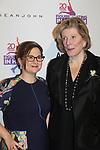 Founder and CEO Sharon Cohen with Anges Gund - Figure Skating in Harlem celebrates 20 years - Champions in Life benefit Gala on May 2, 2017 in New York Ciry, New York.   (Photo by Sue Coflin/Max Photos)