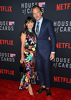 LOS ANGELES, CA. October 22, 2018: Constance Zimmer &amp; Russ Lamoureux at the season 6 premiere for &quot;House of Cards&quot; at the Directors Guild Theatre.<br /> Picture: Paul Smith/Featureflash