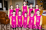 The Barr na Sraide set dancers who performed in the Kerry Coast Hotel on Friday for the annual concert were front l-r; Corinna Geary-O'Sullivan, Lorna O'Shea, Sarah O'Shea, Makayla O'Sullivan, Julie O'Sullivan, back l-r; Tara O'Sullivan, Grace Curran, Isabella Curran, Saoirse Curran & Emily O'Shea.