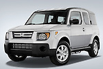 Low aggressive front three quarter view of a 2008 Honda Element EX SUV