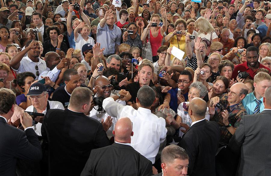 Barack Obama visit. Photo/Andrew Shurtleff