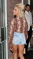 Gabby Allen at the Bloomsbury Street Kitchen Restaurant Launch Party in London on August 8th 2019<br /> CAP/ROS<br /> ©ROS/Capital Pictures