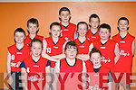 St Mary's team that competed in the Garda/KDYS basketball blitz in Castleisland on Friday front row l-r: Grainne Walsh, Laura Fitzmaurice, Aoife Kerins. Back row: Sean O'Sullivan, Paul Browne, Aoife Flynn, Donal Geaney, Paris Mccarthy, Seamus Bradley, Mark Hickey and Dean Bradley..