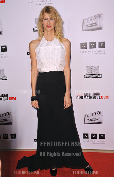 Laura Dern at the 26th Annual American Cinematheque Awards Ceremony honoring actor Ben Stiller at the Beverly Hilton Hotel..November 15, 2012  Beverly Hills, CA.Picture: Paul Smith / Featureflash
