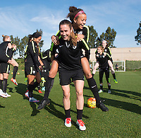 USWNT Training, January 21, 2016