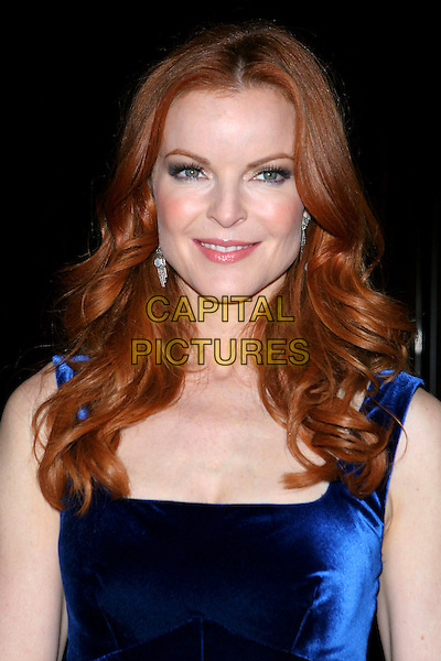 MARCIA CROSS. 32nd Annual Crystal Ball held at The Beverly Hilton Hotel, Beverly Hills,  CA..October 19th, 2005.Photo: Jacqui Wong/AdMedia/Capital Pictures.Ref: JW/ADM.headshot portrait blue.www.capitalpictures.com.sales@capitalpictures.com.© Capital Pictures.