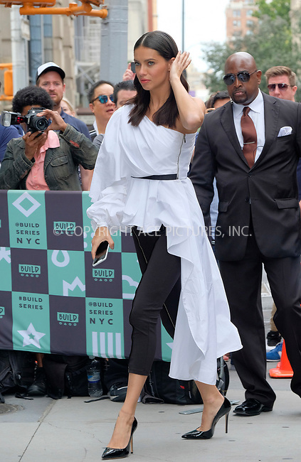 www.acepixs.com<br /> <br /> September 20 2017, New York City<br /> <br /> Victoria's Secret model Adriana Lima made an appearance at Build Series on September 20 2017 in New York City<br /> <br /> By Line: Curtis Means/ACE Pictures<br /> <br /> <br /> ACE Pictures Inc<br /> Tel: 6467670430<br /> Email: info@acepixs.com<br /> www.acepixs.com