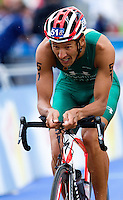 07 AUG 2011 - LONDON, GBR - Chris McCormack (AUS) - men's round of triathlon's ITU World Championship Series .(PHOTO (C) NIGEL FARROW)