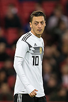 Mesut Ozil (Arsenal) of Germany during the International Friendly match between England and Germany at Wembley Stadium, London, England on 10 November 2017. Photo by Andy Rowland.