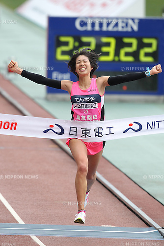 Risa Shigetomo (Tenmaya), JANUARY 29, 2012 - Marathon : 2012 Osaka International Ladies Marathon, Start & Goal Nagai Stadium in Osaka, Japan. (Photo by Akihiro Sugimoto/AFLO SPORT) [1080]