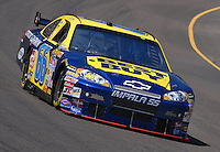Apr 19, 2007; Avondale, AZ, USA; Nascar Nextel Cup Series driver Jeff Green (66) during practice for the Subway Fresh Fit 500 at Phoenix International Raceway. Mandatory Credit: Mark J. Rebilas