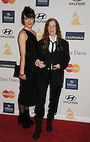 BEVERLY HILLS, CA - FEBRUARY 09: Patti Smith and Jesse Smith arrive at the The 55th Annual GRAMMY Awards - Pre-GRAMMY Gala And Salute To Industry Icons Honoring L.A. Reid at the Beverly Hilton Hotel on February 9, 2013 in Beverly Hills, California.PAP0213JP405.PAP0213JP405. Nortephoto