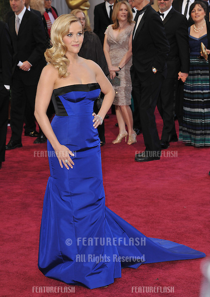 Reese Witherspoon at the 85th Academy Awards at the Dolby Theatre, Hollywood..February 24, 2013  Los Angeles, CA.Picture: Paul Smith / Featureflash
