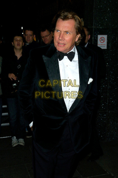 THEO FENNELL.The Estee Lauder & Harrods Cool Pink Party, Harrods, London, England..October 15th, 2007.half length 3/4 black tuxedo bow tie hands in pockets .CAP/CAN.©Can Nguyen/Capital Pictures