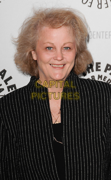 "NANCY MILLER.arriving at the Third Season Premiere and Panel Discussion for ""Saving Grace"" at The Paley Center for Media in Beverly Hills, California, USA, June 13th 2009..portrait headshot black suit pinstripe .CAP/ROT.©Lee Roth/Roth Stock/Capital Pictures."