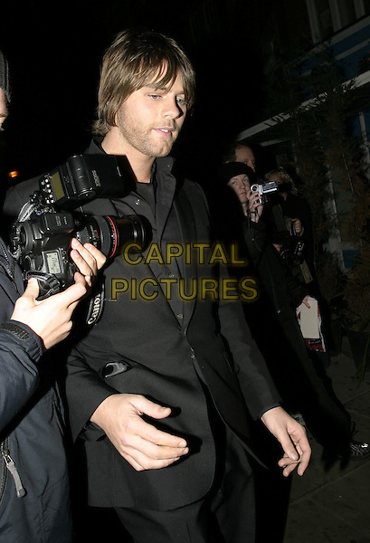 BRIAN McFADDEN<br /> Leaving the Royal Variety Performance, Coliseum, London,<br /> December 14th 2004.<br /> half length bryan<br /> Ref: AH<br /> www.capitalpictures.com<br /> sales@capitalpictures.com<br /> &copy;Capital Pictures