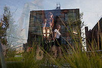 NEW YORK - JUNE 27: People enjoy summer afternoon at the High Line park on June 27, 2011. The High Line park opened two summers ago on a disused elevated train track on Manhattan's west side. (Photo by Landon Nordeman)
