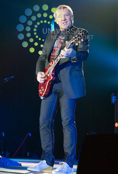 Rush, the Canadian rock band formed back in 1968, roll back the clock and play the first UK date of their Time Machine Tour at the SECC in Glasgow on Friday 14th May 2011. . .Pictures: Peter Kaminski/Universal News and Sport (Europe)2011
