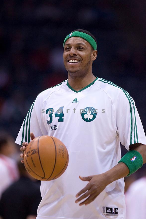 Paul Pierce.March 09, 2010 Milwaukee, WI. Bradley Center...Milwaukee Buck won over the Boston Celtics 86-84.