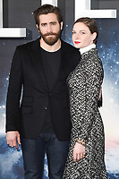Jake Gyllenhaal and Rebecca Ferguson<br /> at the photocall for the film &quot;Life&quot;, Corinthia Hotel, London.<br /> <br /> <br /> &copy;Ash Knotek  D3242  16/03/2017