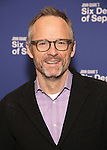 John Benjamin Hickey attends the 'Six Degrees Of Separation' Cast Meet & Greet at The New 42nd Street Studios on March 1, 2017 in New York City.