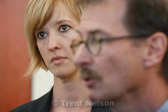 Attorneys for convicted polygamist leader Warren Jeffs argued their case before the Utah Supreme Court Tuesday, November 3 2009 in Salt Lake City, hoping to overturn Jeffs' 2007 conviction as an accomplice to rape. wally bugden, tara isaacson
