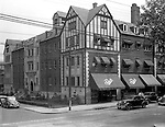Pittsburgh PA:  View of Fishel's Store in Shadyside - 1935.