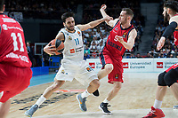 Real Madrid Facundo Campazzo and Baskonia Vitoria Marcelinho Huertas during Turkish Airlines Euroleague match between Real Madrid and Baskonia Vitoria at Wizink Center in Madrid, Spain. January 17, 2018. (ALTERPHOTOS/Borja B.Hojas) (NortePhoto.com NORTEPHOTOMEXICO)