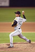 Ken Nishimura - Scottsdale Scorpions, 2009 Arizona Fall League.Photo by:  Bill Mitchell/Four Seam Images..