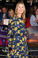 Rosamund Pike at the London Film Festival 2017 closing gala of &quot;Three Billboards Outside Ebbing, Missouri&quot; at Odeon Leicester Square, London, UK. <br /> 15 October  2017<br /> Picture: Steve Vas/Featureflash/SilverHub 0208 004 5359 sales@silverhubmedia.com