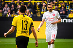 11.05.2019, Signal Iduna Park, Dortmund, GER, 1.FBL, Borussia Dortmund vs Fortuna D&uuml;sseldorf, DFL REGULATIONS PROHIBIT ANY USE OF PHOTOGRAPHS AS IMAGE SEQUENCES AND/OR QUASI-VIDEO<br /> <br /> im Bild | picture shows:<br /> Einzelaktion Adam Bodzek (Fortuna #13), <br /> <br /> Foto &copy; nordphoto / Rauch
