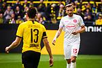 11.05.2019, Signal Iduna Park, Dortmund, GER, 1.FBL, Borussia Dortmund vs Fortuna Düsseldorf, DFL REGULATIONS PROHIBIT ANY USE OF PHOTOGRAPHS AS IMAGE SEQUENCES AND/OR QUASI-VIDEO<br /> <br /> im Bild | picture shows:<br /> Einzelaktion Adam Bodzek (Fortuna #13), <br /> <br /> Foto © nordphoto / Rauch