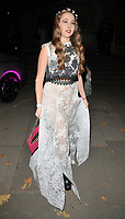 Afton McKeith at the &quot;The Adoration Trilogy: Searching For Apollo&quot; by Alistair Morrison opening gala, Victoria &amp; Albert Museum, Cromwell Road, London, England, UK, on Monday 13 November 2017.<br /> CAP/CAN<br /> &copy;CAN/Capital Pictures