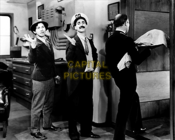 The Marx Brothers  .in Monkey Business.*Filmstill - Editorial Use Only*.CAP/PLF.Supplied by Capital Pictures.