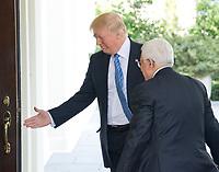MAY 03 Trump Welcomes Abbas
