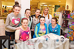 Pictured at the first day of the CH Summer Beauty Camp For Teens at CH Chemists, Tralee, on Monday. The camp has just started and will run for five weeks. Pictured are, front, from left: Michaela O'Donoghue, Kate O'Regan and Rebecca Murphy. Back row: Meghan Horgan, Zoey Riordan, Katie O'Connor and Sharon Howard (CH Chemists).