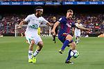 52e Trofeu Joan Gamper.<br /> FC Barcelona vs Chapecoense: 5-0.<br /> Apodi vs Gerard Deulofeu.