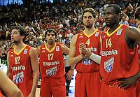 Baloncesto / España vs Australia