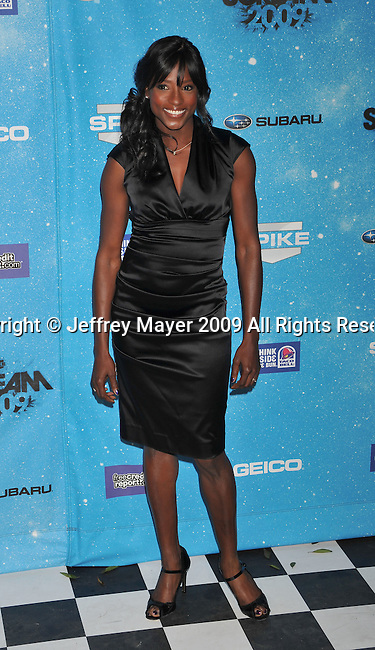 LOS ANGELES, CA. - October 17: Rutina Wesley arrives at Spike TV's Scream 2009 held at the Greek Theatre on October 17, 2009 in Los Angeles, California.
