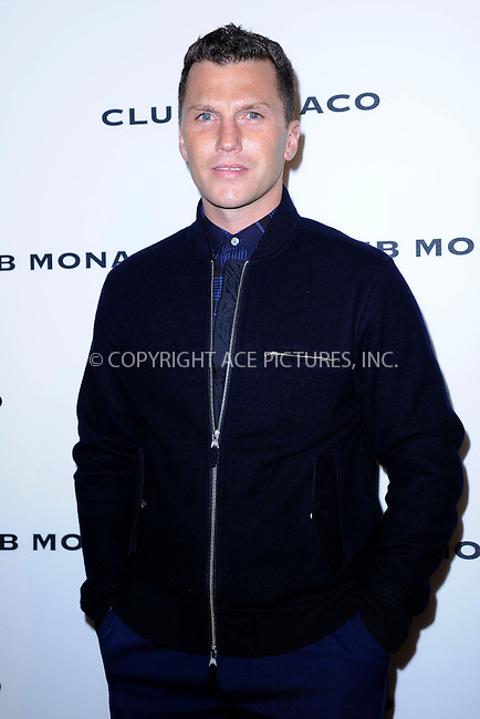 WWW.ACEPIXS.COM <br /> November 7, 2013 New York City<br /> <br /> Sean Avery attends the opening celebration of Club Monoco's Fifth Avenue Flagship Store on November 7, 2013 in New York City.<br /> <br /> Please byline: Kristin Callahan  <br /> <br /> ACEPIXS.COM<br /> Ace Pictures, Inc<br /> tel: (212) 243 8787 or (646) 769 0430<br /> e-mail: info@acepixs.com<br /> web: http://www.acepixs.com