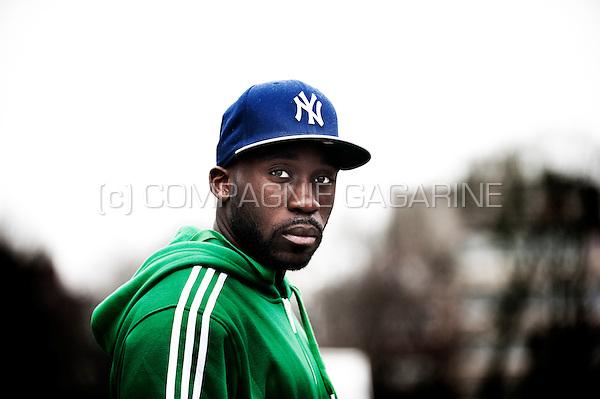 Belgian/Congolese football player Hervé Kagé (Belgium, 27/02/2013)