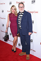 """Nancy Sorrel and Vic Reeves (Jim Moir)<br /> arriving for the London Film Festival 2017 screening of """"Funny Cow"""" at the Vue West End, Leicester Square, London<br /> <br /> <br /> ©Ash Knotek  D3327  09/10/2017"""