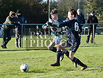 Duleek Matthew Brien Ardee James Maguire . Photo:Colin Bell/pressphotos.ie
