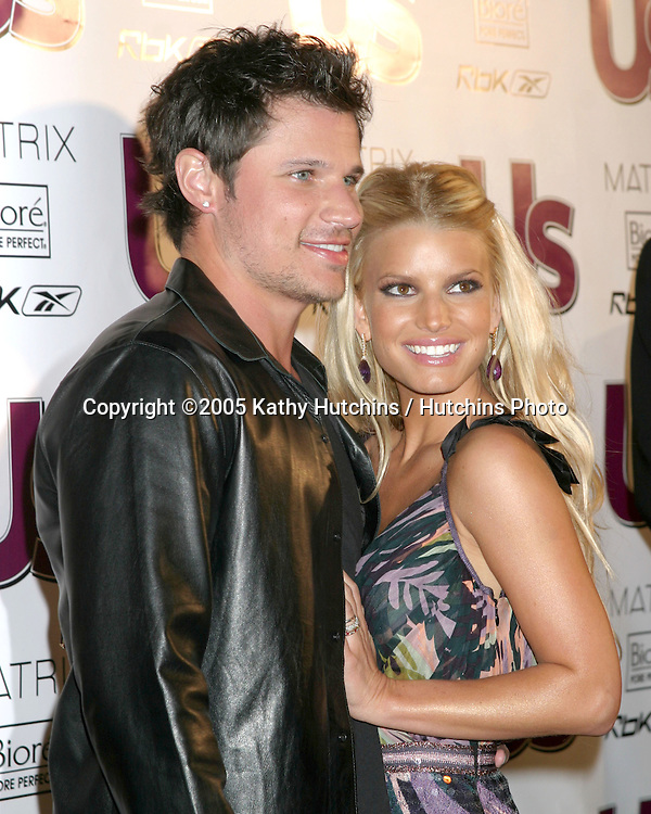 Nick Lachey.Jessica Simpson.Young Hot Hollywood Style Awards.Hollywood, CA.April 13, 2005.@2005 Kathy Hutchins / Hutchins Photo.
