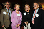 From left: Jamey and Judy Clement with Sarita Hixon and John Crain at a invitation-only reception and book-signing for Phil Collins at Torch Energy Advisors Wednesday May 9,2012. (Dave Rossman Photo)