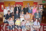 BABY JOY: Proud parents George and Marta O'Donnell, Meadowlands (seated centre), celebrating the Christening of their son Jacob with family and friends at the Meadowlands Hotel on Saturday..   Copyright Kerry's Eye 2008